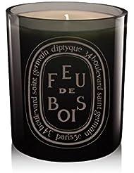 """Diptyque De Couleur """"Gris"""" Bougie Feu De Bois / """"Gris"""" Feu De Bois 300G"""
