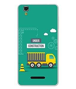 Fuson Designer Back Case Cover for YU Yureka :: YU Yureka AO5510 (Lorry Logo Highway Gaadi Passenger)