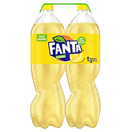 Fanta Lim n Refresco con gas 2 l Pack de 2 Botella de pl stico