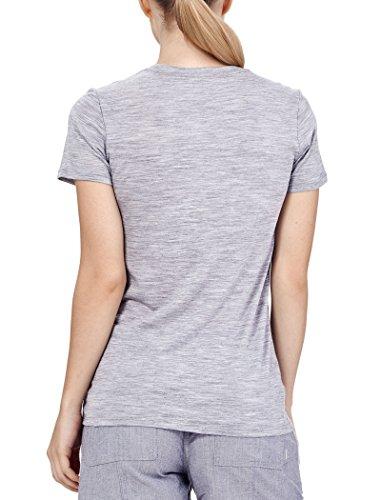Icebreaker, maglietta a maniche corte, leggera, da donna Metro Hthr