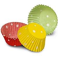 Guardini Monouso, 100 pirottini Ø7cm, carta da forno, Colori assortiti