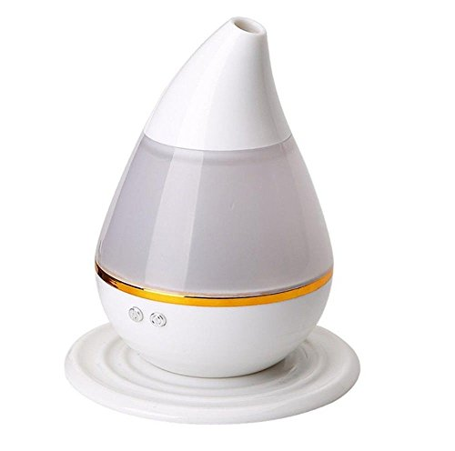 KITCHEN TOOLS Mini humidificador ultrasónico difusor de Aroma Fresco de Niebla con Filtro silencioso y Durable de 7 Colores de luz LED USB purificador de Agua