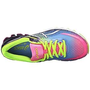 new arrival 5a1c6 10951 ASICS Women s Gel-Kinsei 6 Running Shoe, Hot Pink White Flash Yellow, 6 M US