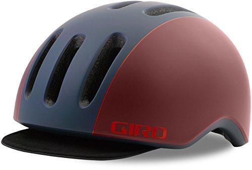 Giro Reverb City Fahrrad Helm blau/rot 2018: Größe: S (51-55cm) (Giro Reverb Helm)