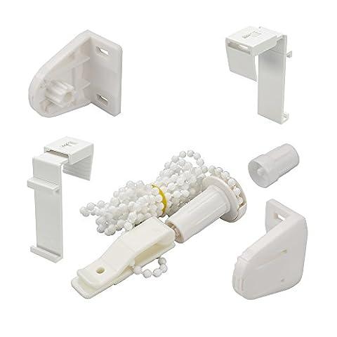Liedeco Kit d'accessoires pour store roulant avec support de serrage,