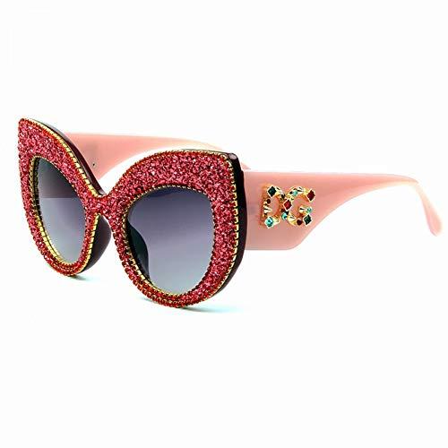 Taiyangcheng Polarisierte Sonnenbrille Frauen cat Eye Sonnenbrille Vintage Oversize markendesigner Sonnenbrille männer weibliche Shades Frauen,a3