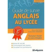 Guide de survie bac et examens : Anglais by Elodie Verdavoir (2016-05-09)