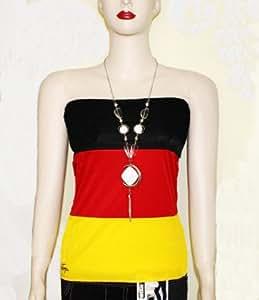 Rock / Damentop multifunktional für Damen Deutschland Fußball WM 2014