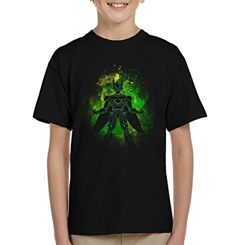 lhouette Kid's T-Shirt (Dragon Ball Z Cell Shirt)