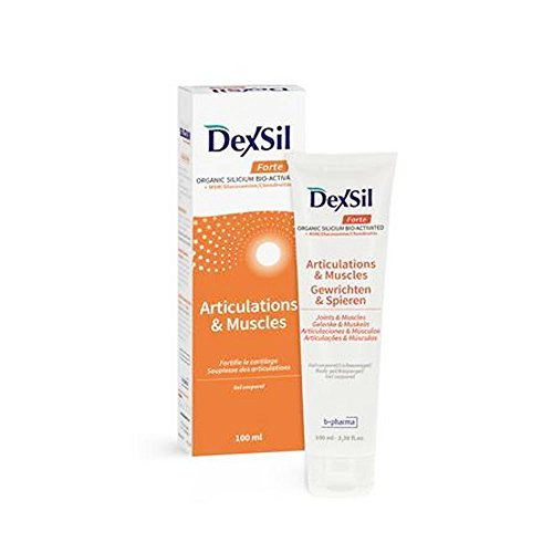 Dexsil Pharma Forte Articulations + MSM Glucosamine Chondroïtine Gel Corporel 100 ml