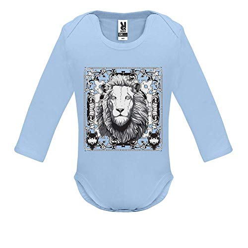 253bd70c6f299 Body bébé - Manche Longue - Lion King - Bébé Garçon - Bleu - 18MOIS