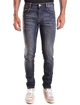 Frankie Morello Hombre MCBI125080O Azul Algodon Jeans