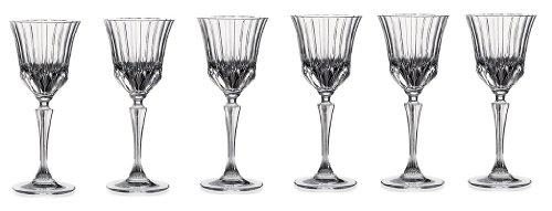 RCR Crystal Adagio Collection Likörglas Set Liquor Liquor/Cordial Crystal Drinkware Collection