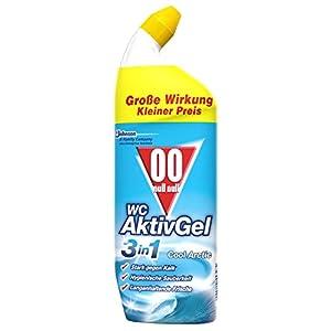 Flüssiger WC Reiniger, Für hygienische Sauberkeit, 750 ml, WC Aktiv Gel 3in1