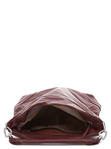 Liebeskind Berlin Damen Tokiow Vintag Schultertaschen, 35x39x12 cm ruby