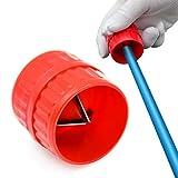 SANTOO Escariador para Tubo, Escariador Cónico para Desbarbador Interno/Externo para Tubos con un Diámetro de 5-38 mm, Cobre o Mangueras de Plástico