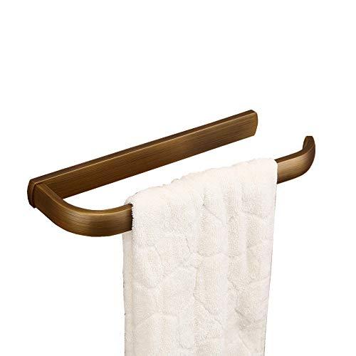 """Hiendure® Latón antiguo Montado en la pared Cocina Estante de toallas Soporte para papel de suspensión Barra Organizadora Anillos de baño (12 """"estante de toalla)"""