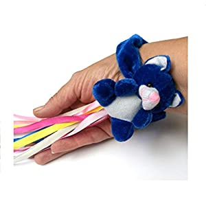 Blau Teddybär Armband - sensorische Aktivitäten für Senioren