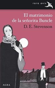 El matrimonio de la señorita Buncle par D.E. Stevenson