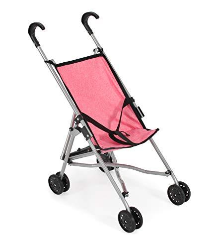 Bayer Chic 2000 600 57 - Carrito de bebé, Color Rosa