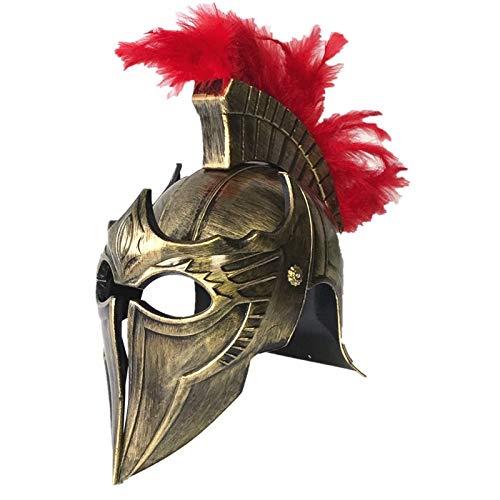 Spartan Warrior Kostüm - WSJDE Cos Masquerade Helm Spartan Warrior