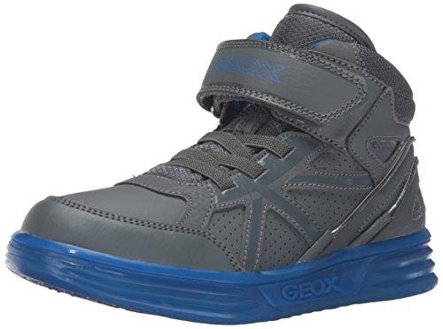 Geox J Argonat C, Sneakers Hautes Garçon, Schwarz (Black/REDC0048), 30 EU