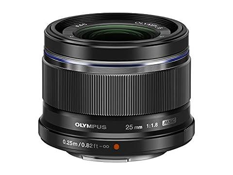 Olympus Objectif Zuiko Digital 25 mm 1.8 - Noir