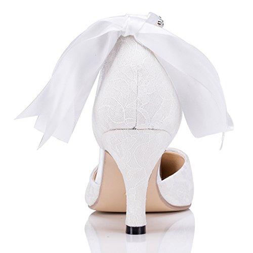 Kevin Fashion , Chaussures de mariage tendance femme Blanc