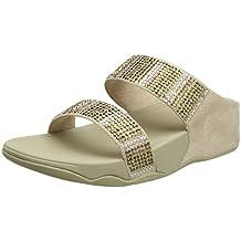 Fitflop Flare Strobe Slide Sandals Sandali Punta Aperta Donna bfbb83ae4cb