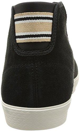 Le Coq Sportif Charlety Suede, Baskets mode femme Noir (Black)