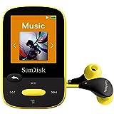 SanDisk Clip Sport 8 GB MP3 Player - Yellow