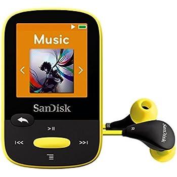 SanDisk Clip Sport 8GB, Lettore MP3, Giallo