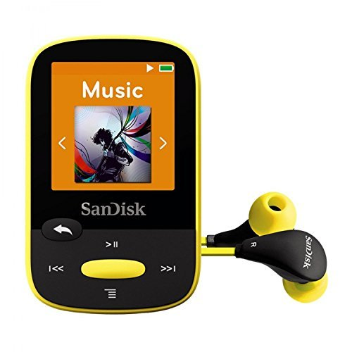 SanDisk Clip Sport 8GB MP3-Player Gelb