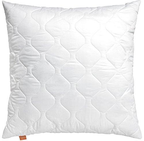 *sleepling 190020 Komfort 100 Kopfkissen Mikrofaser Sofakissen 40 x 40 cm, weiß*