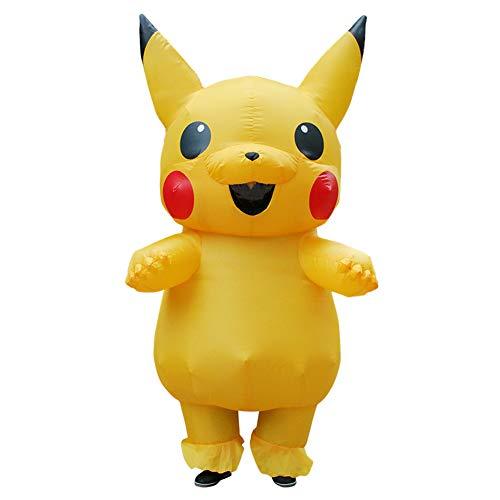 Pikachu Outfit - LTSWEET Schön Gelb Pikachu Aufblasbare Kostüm