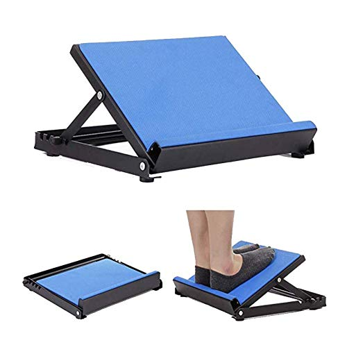 QINAIDI Verstellbares Slant Board für Oberschenkel, Achillessehne, Wadenmuskeltraining, 4 verstellbare Positionen