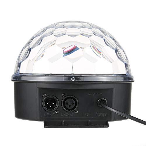 LED Discokugel LED RGB Digital Crystal Magic Ball Lichteffekt DMX 512 Disco DJ Stage Lighting