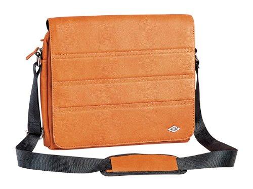 Wedo 596006 GoFashion Pro Crossover-Tasche Querformat (mit Spezialfach für Tablet PCs) orange