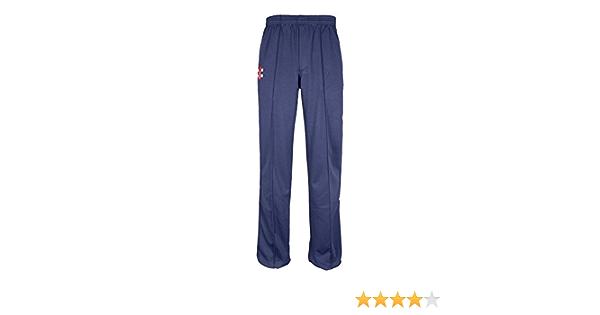 Gray Nicolls Matrix Cricket Trousers Trimmed Senior White//Navy Large