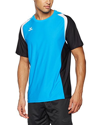 erima razor erima Herren T Shirt Razor 2.0, Curacao/Schwarz/Weiß, L