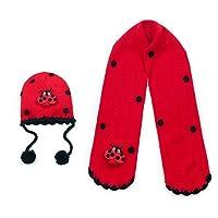 Kidorable Hat and Scarf Set (Ladybug) by Kidorable