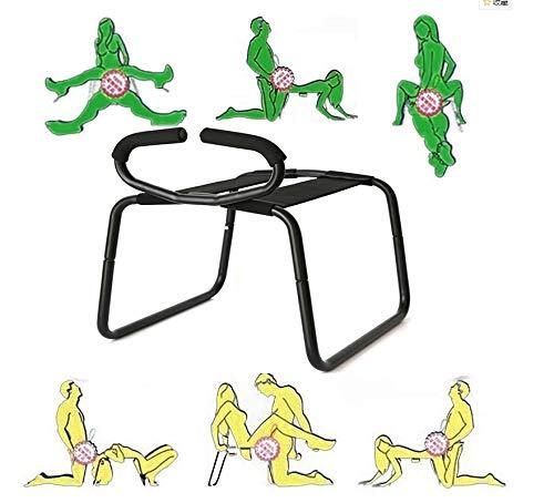 Halten Sie Möbel (FGFGG Lustige Spielzeug-Multifunktionsstuhl-Möbel for Erwachsene Spielwaren Schwarzer Stuhl Halten Sie bis 300 Pfund-Schwarzer praktischer Stuhl)