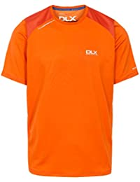 Trespass t-Shirt da Uomo Pickens Asciugatura Rapida Antibatterico con  Ventilazione e Dettagli Riflettenti 7278870e029
