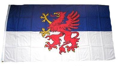 Fahne / Flagge Pommern NEU 90 x 150 cm Flaggen