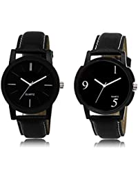 The Shopoholic Black Combo Fashionable Fancy Collection Black Dial Analog Watch For Boys Watch For Boy's