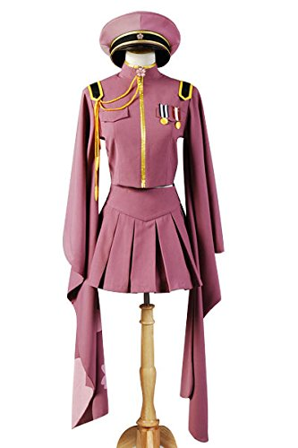 Vocaloid Senbon Sakuras Zakura Miku Cosplay Kostüm Uniform Dress Damen M
