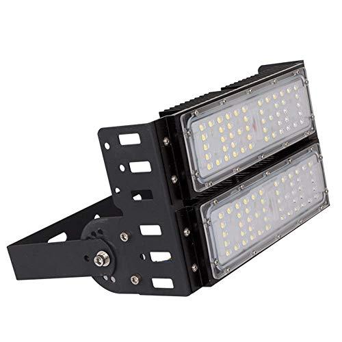 XAJGW LED-Flutlicht - LED-Leuchten 150W 7800Lm Dusk to Dawn Outdoor LED-Flutlichter 5000K 300W MH Gleichwertige Außenbeleuchtung für Türen, Wege, Garten, Landschaft, Garten UL & DLC -