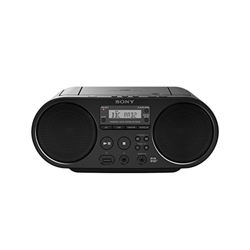Sony ZSPS55B.CED CD/USB DAB Radiorekorder (Sony Cd-radio)