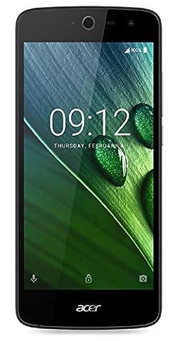 Acer Liquid Zest 3G Dual Micro-SIM Smartphone (12,7 cm (5 Zoll) Display, 8GB Speicher, Android 6.0) schwarz + weiß (Dual