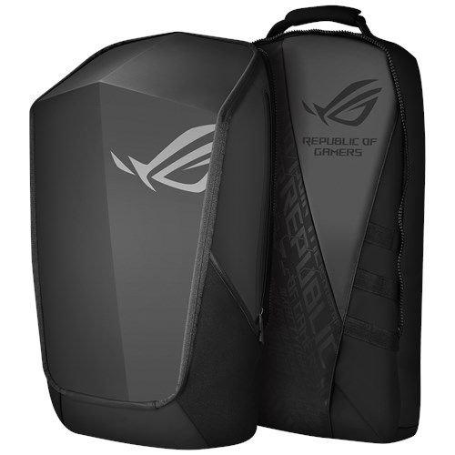 ASUS ROG Ranger 2-in-1 Notebook Rucksack (für Notebooks bis zu 17 Zoll,36 Liter,  abnehmbare Fächer, ergonomische Schultergurte) schwarz